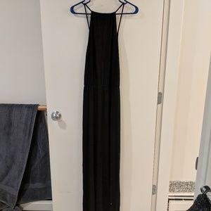 LA Made black maxi dress small